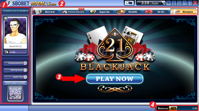lobby-sbobet-casino-blackjack